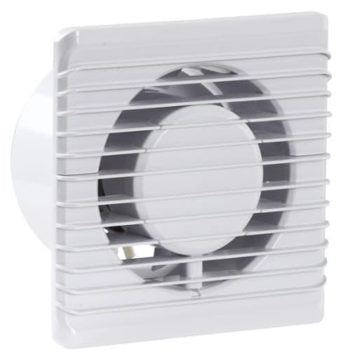 Ventilator badeværelse med timer & hygrostat