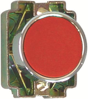 KB2 trykknap i metal