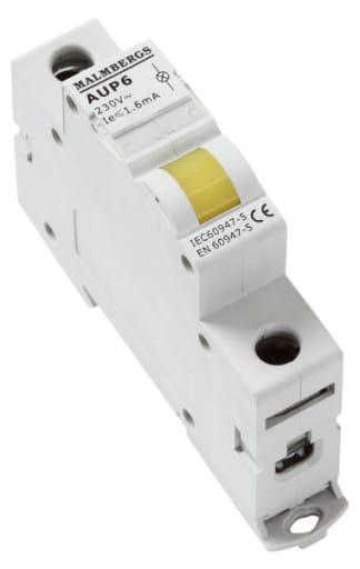 Malmbergs LED signallampe for DIN-skinne