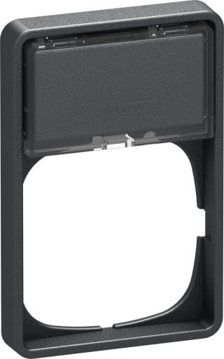 LK Fuga 50mm ramme 1,5M med tekstfelt