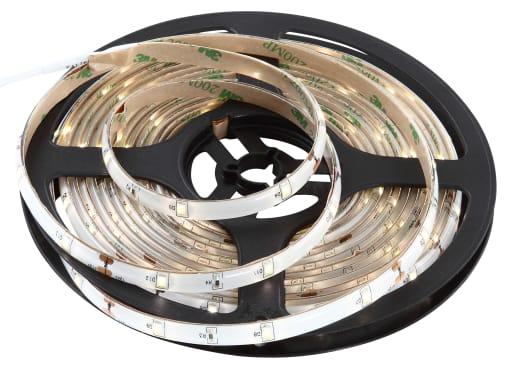 Frostlight LED bånd 5 meter - Koldt lys