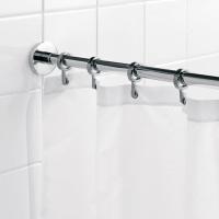 Badeforhæng Stang undgå vand på hele badeværelset, køb en bruseforhængsstang i dag