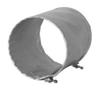 Køb Flex slange grå PVC 5 meter - 250 mm. 353908250
