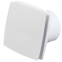 Køb Duka EL 700Q TH Ventilator med hygrostat & timer Ø100 mm, Hvid 327354