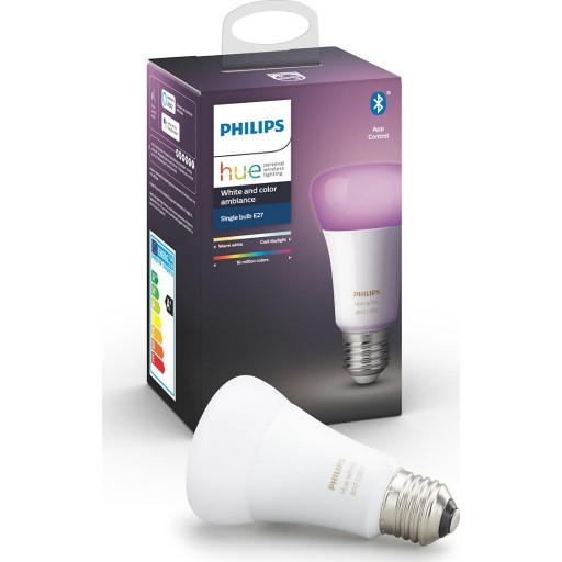 Philips Hue E27 Color LED pære