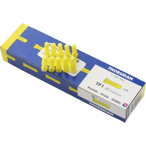 Thorsman TP1 plugs 100stk