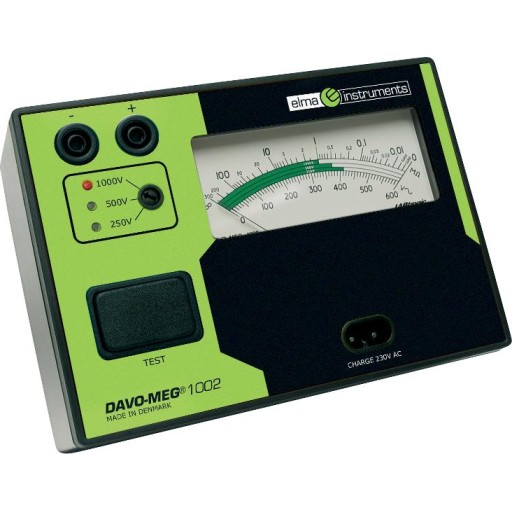 DAVO-MEG 1002 genopladelig isolationstester