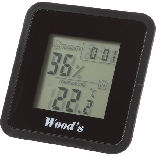 Woods Hygrometer og termometer