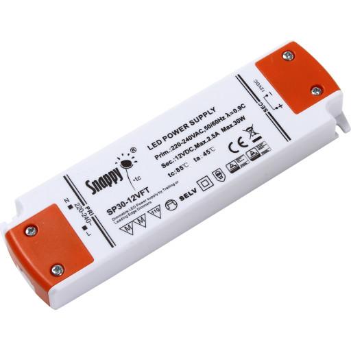 Snappy LED driver 12V 30W dæmpbar