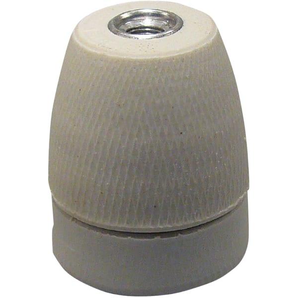 Porcelænsfatning E27