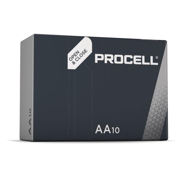 Duracell Procell AA batterier 10 stk.