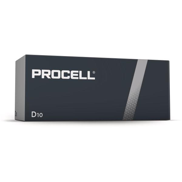 Duracell Procell D batterier 10 stk.