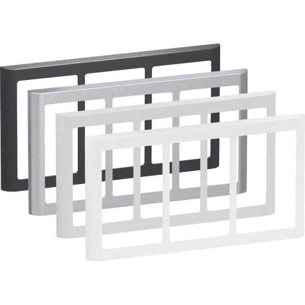 LK Fuga Design ramme 63 Soft 3x1,5 modul vandret