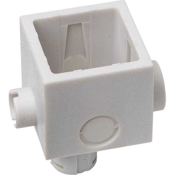 Fuga dåse for blank mur 1 modul