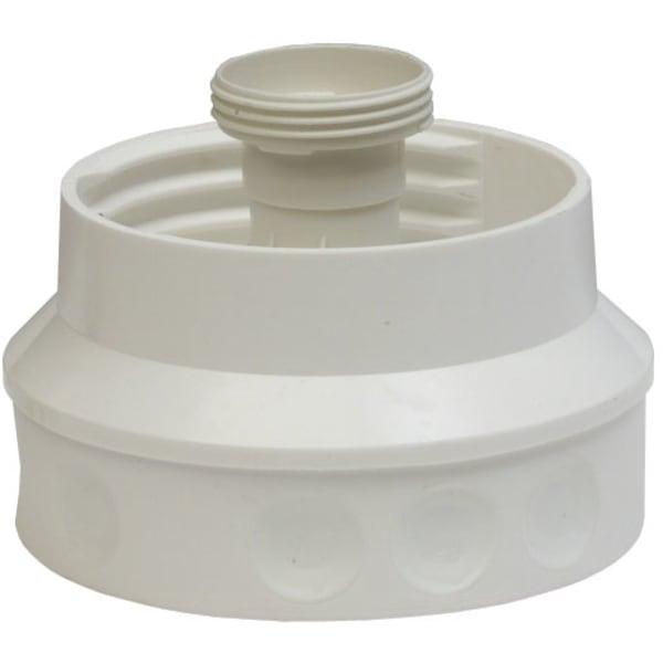Dåsearmatur og pakning til staldglas