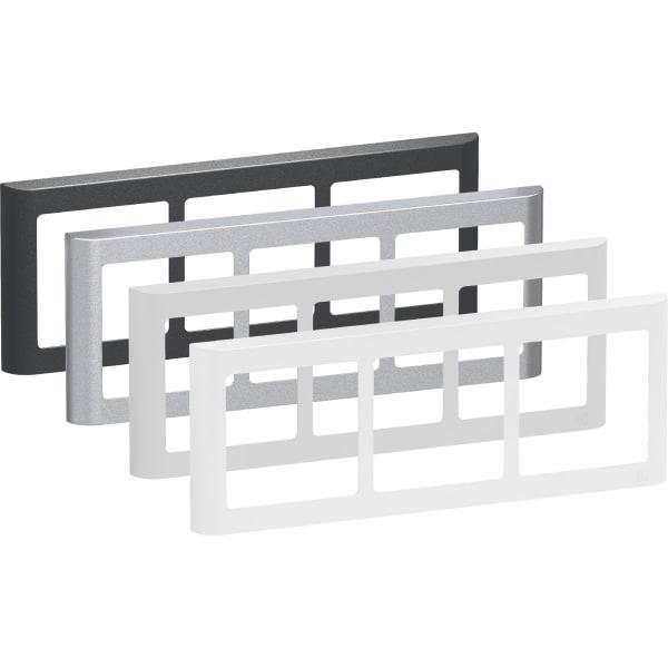 LK Fuga Design ramme 63 Soft 3x1 modul vandret