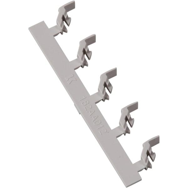 Terminalafdækning til lampe- og komfurudtag
