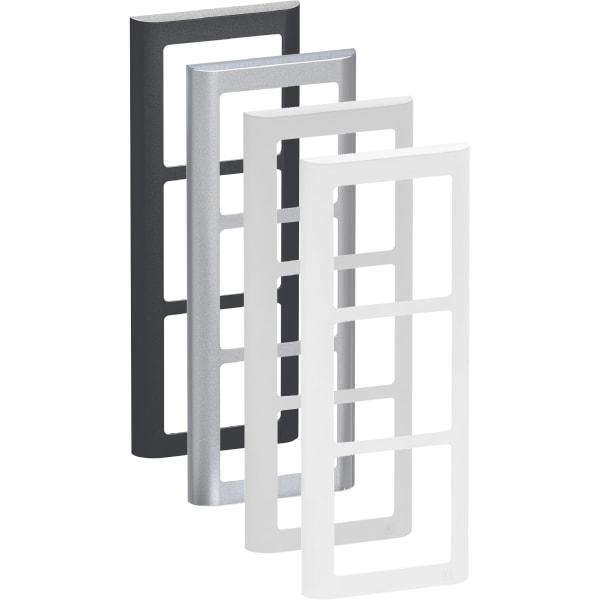 LK Fuga Design ramme 63 Soft 3 modul lodret