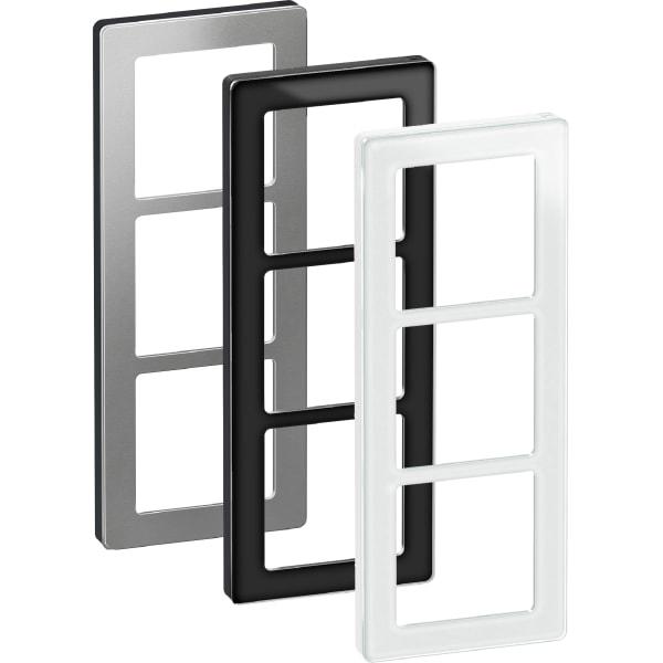LK Fuga Pure design ramme 3 modul