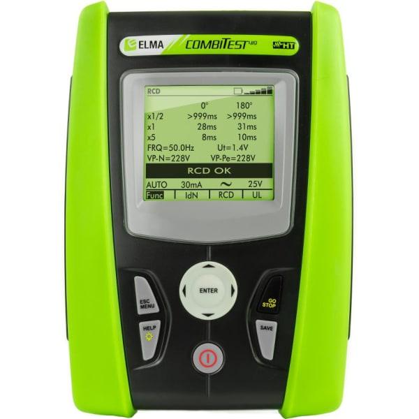 Elma Combitest 419 Multi installationstester med energianalyse