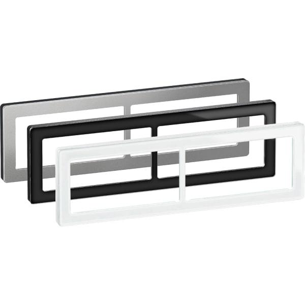 LK Fuga Pure design ramme 2x2 modul