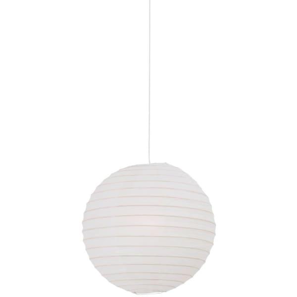 Rispapir lampe til loft