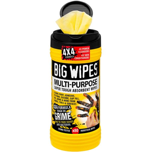 Big Wipes antibakterielle servietter