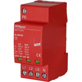 Dehnguard transientbeskyttelse stærkstrøm 4P 63A