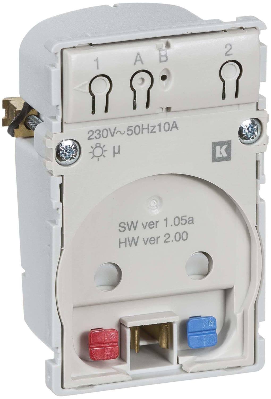 LK IHC Wireless Fuga Stikkontakt, 1½ modul, Uden afdækning