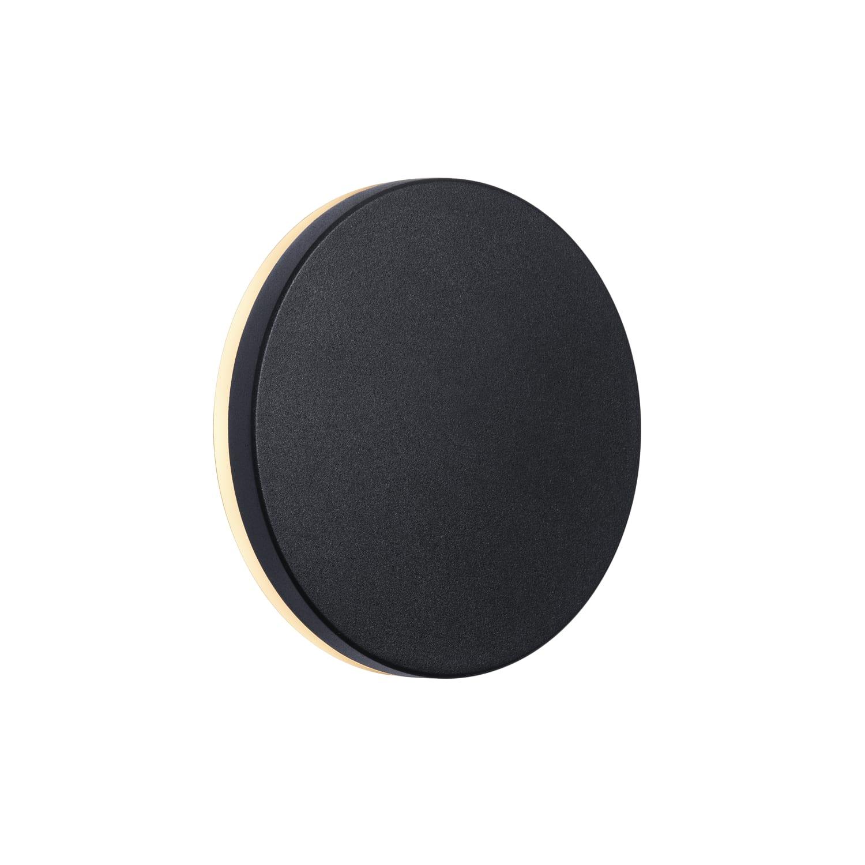 Køb Nordlux Artego Round udendørs væglampe, 8W LED, sort