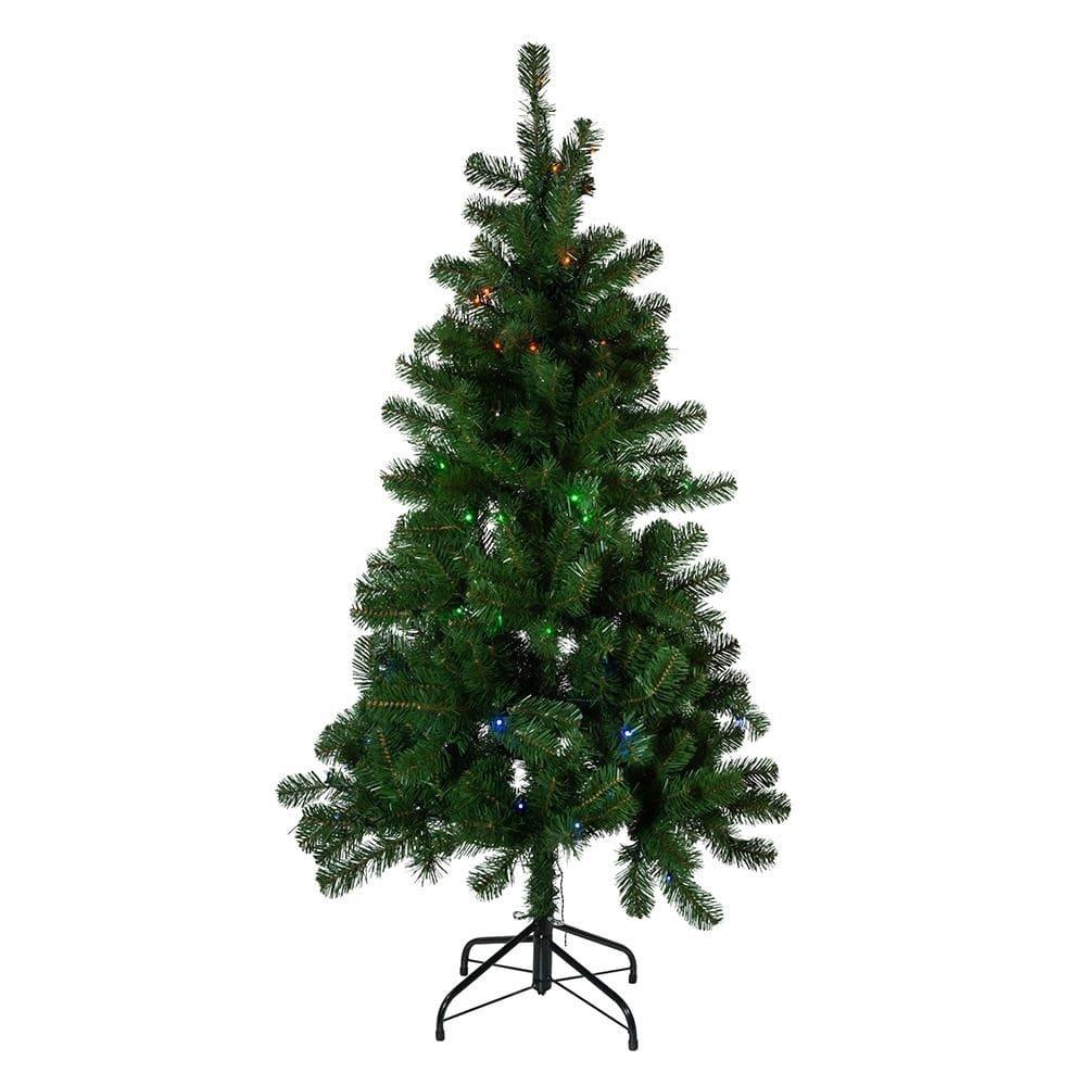 juletre i plast med innebygd led belysning salg