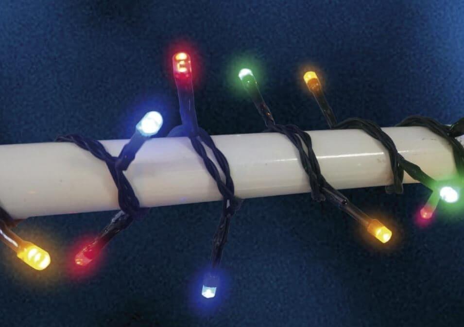 Veli (A) Udendørs LED Lyskæde Multifarvet lys