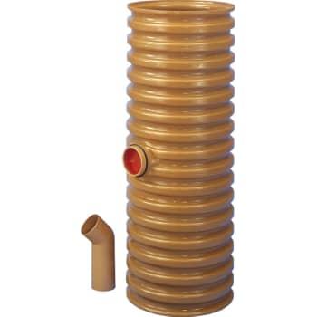 Wavin 425 x 160 mm PVC-sandfangsbrønd med vandlås, 70 l, lav