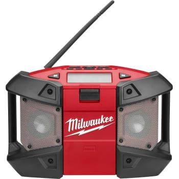 Cool Milwaukee M12 arbejdsradio, C12 JSR IU48