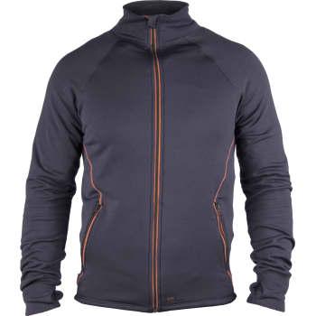 9482c006 Dunderdon sweatshirt, stretch, S27, navy/orange, M