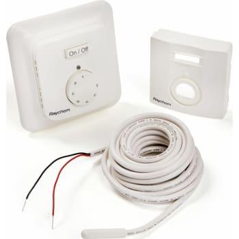 Pæn Gulvvarme termostat elektronisk, rum- og gulvføler, R-TE BV99
