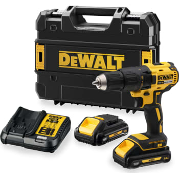 Super DEWALT 18 V XR boremaskine DCD777L2T-QW, 2 x 18 V/3,0 Ah SC26