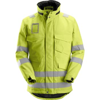 d510c409 Snickers vinterjakke high-vis, gul 1823, Str. 2XL