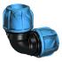 VVS / Vand / PEL/PEM rør og fittings / +GF+ iJOINTS / Vinkel / 90° / 90°