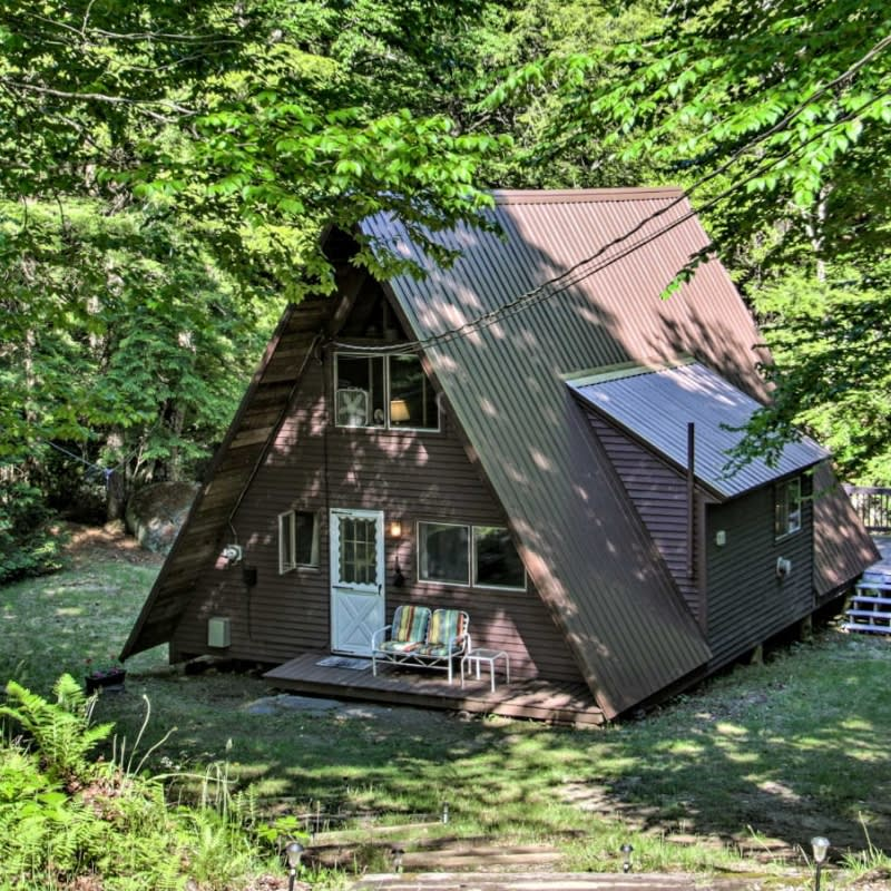 Romney, NH A-frame vacation rental home