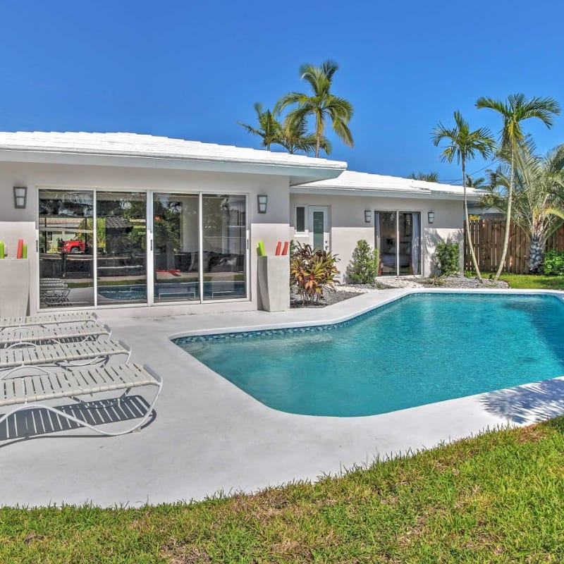 Fort Lauderdale vacation rental with a pool