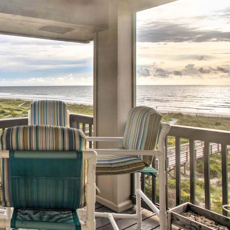 St. Augustine, Florida vacation rental condo with ocean views
