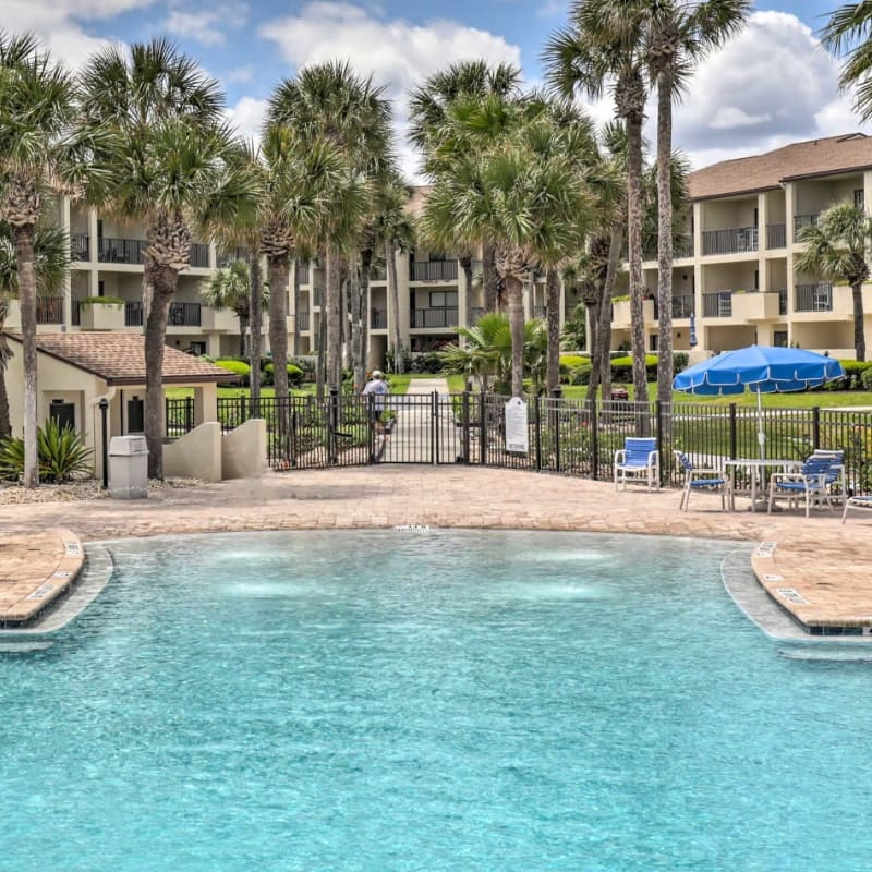 Vacation rental property with pool access in St. Augustine, Florida