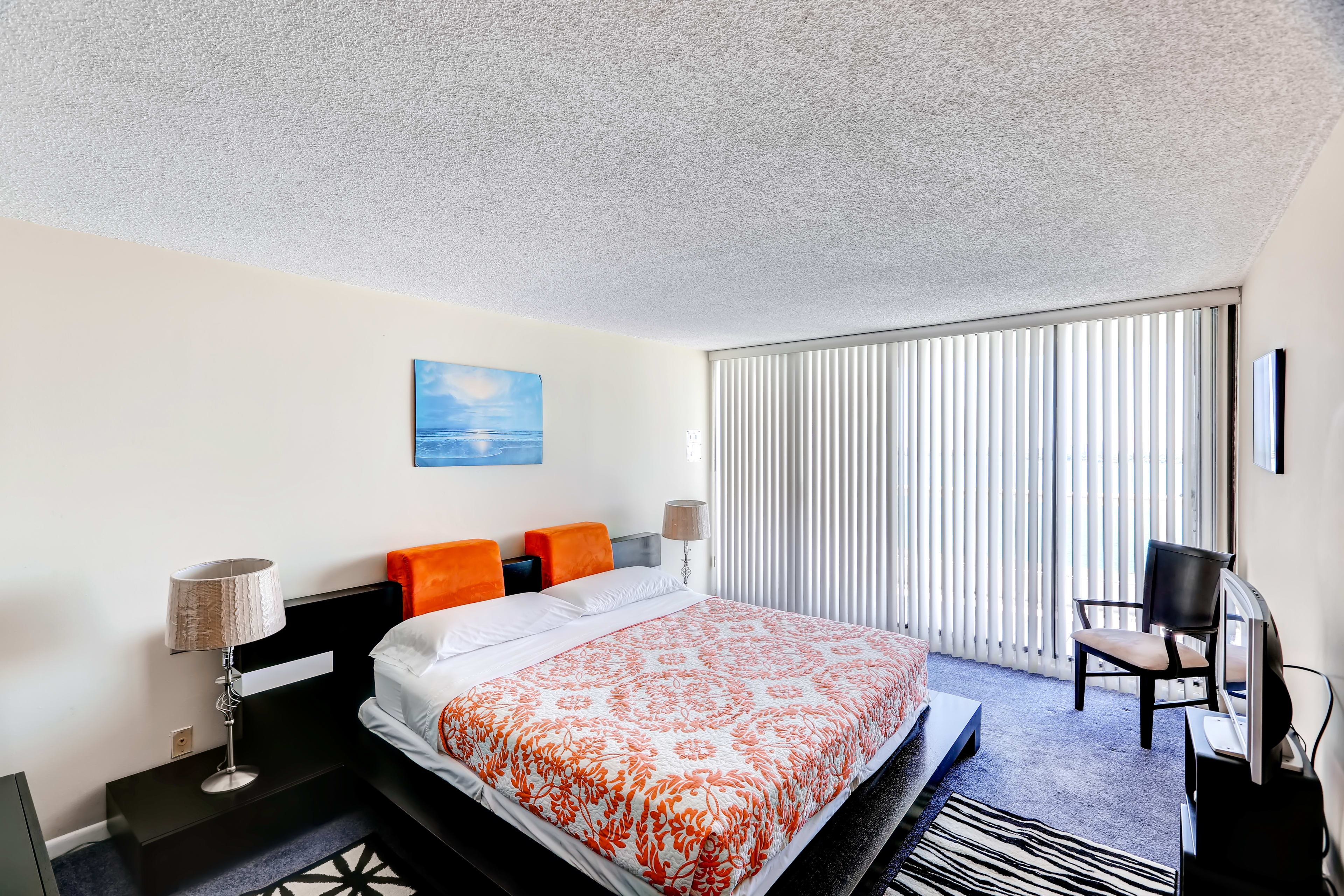 Sleep soundly in the spacious master bedroom.
