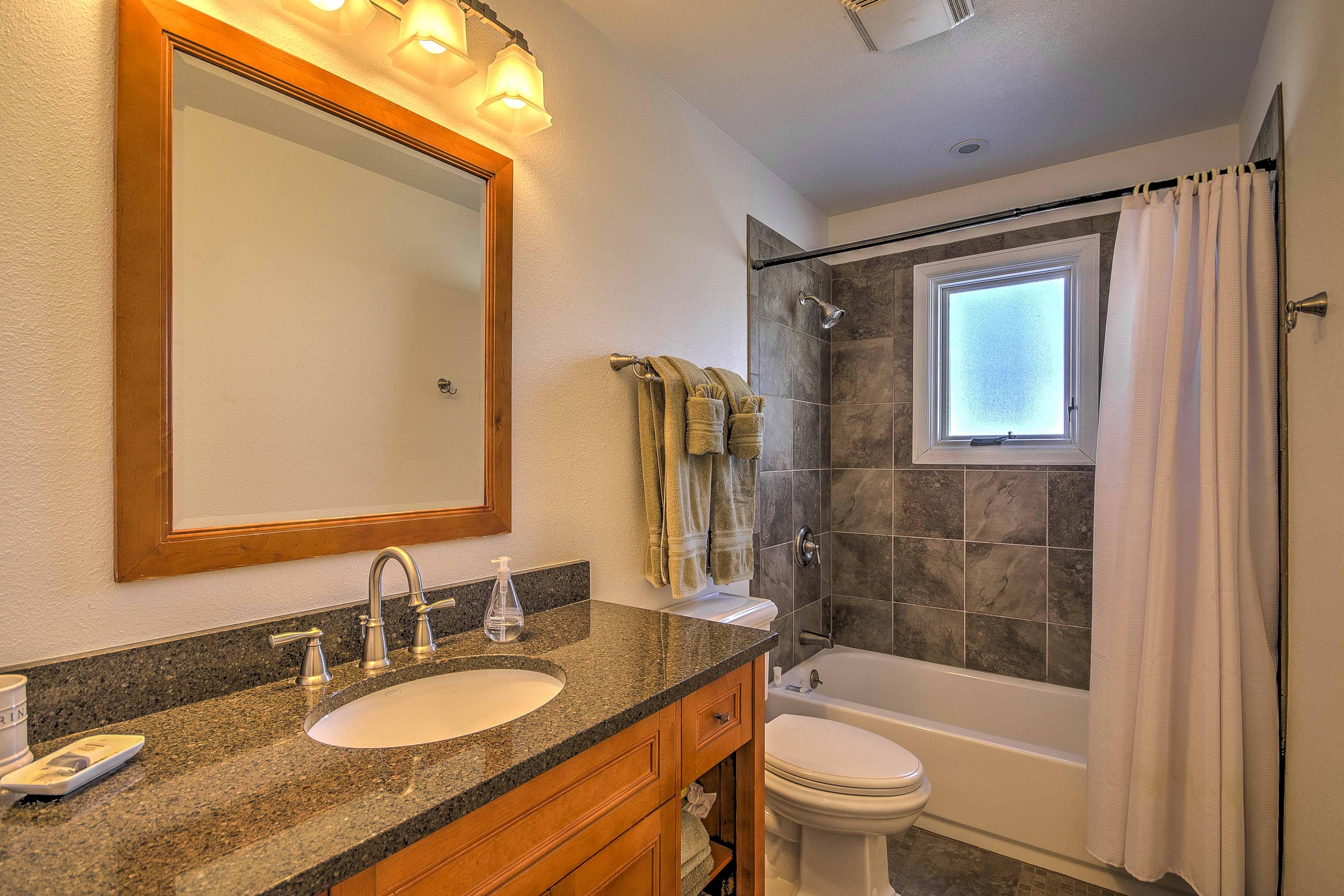 The en suite bathroom ensures maximum privacy and convenience.