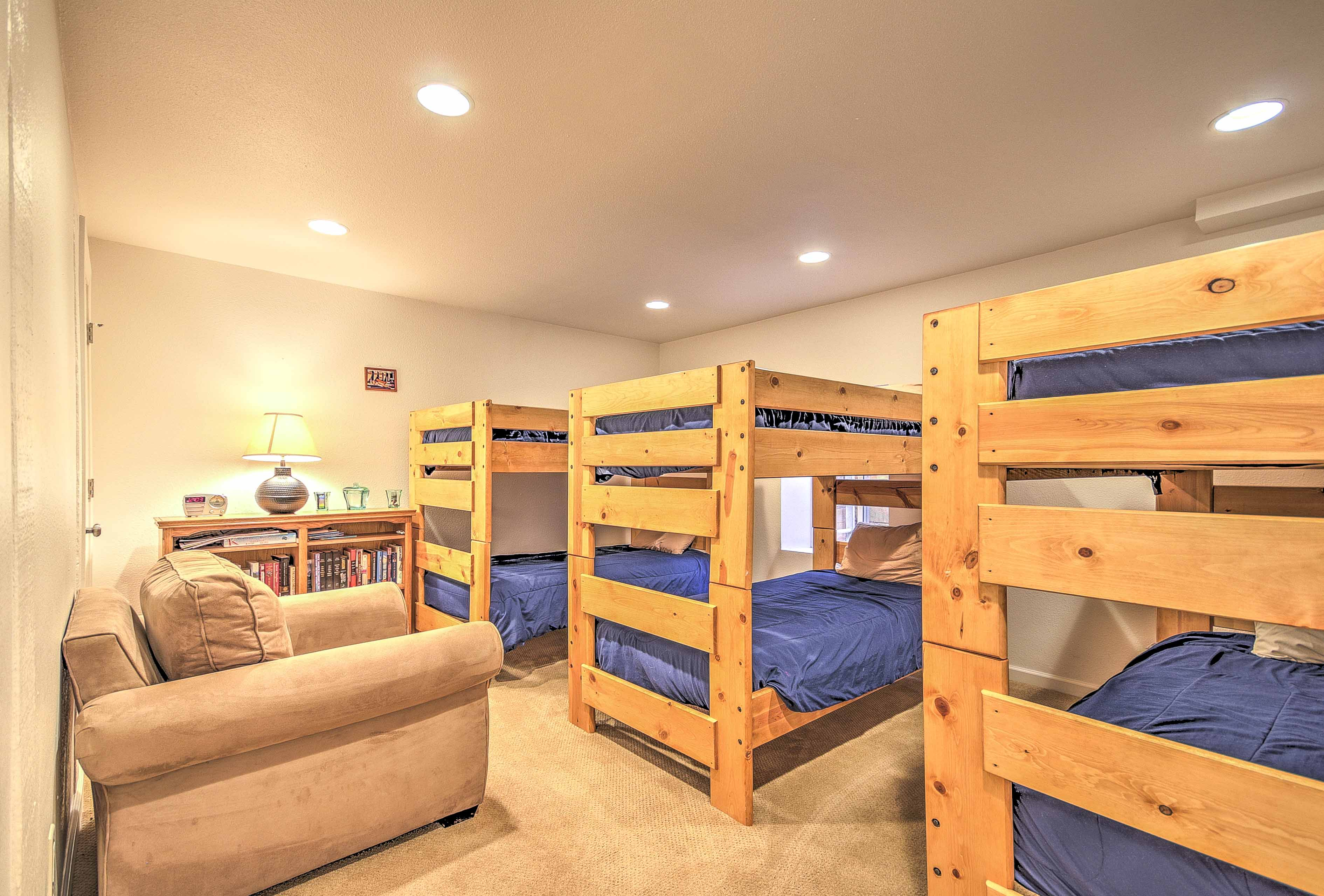This room can sleep up to 6 guests!
