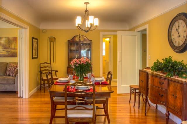 Formal dining room for entertaining or enjoying a nice dinner