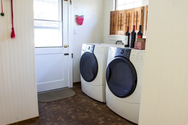 Full washer and dryer for your use