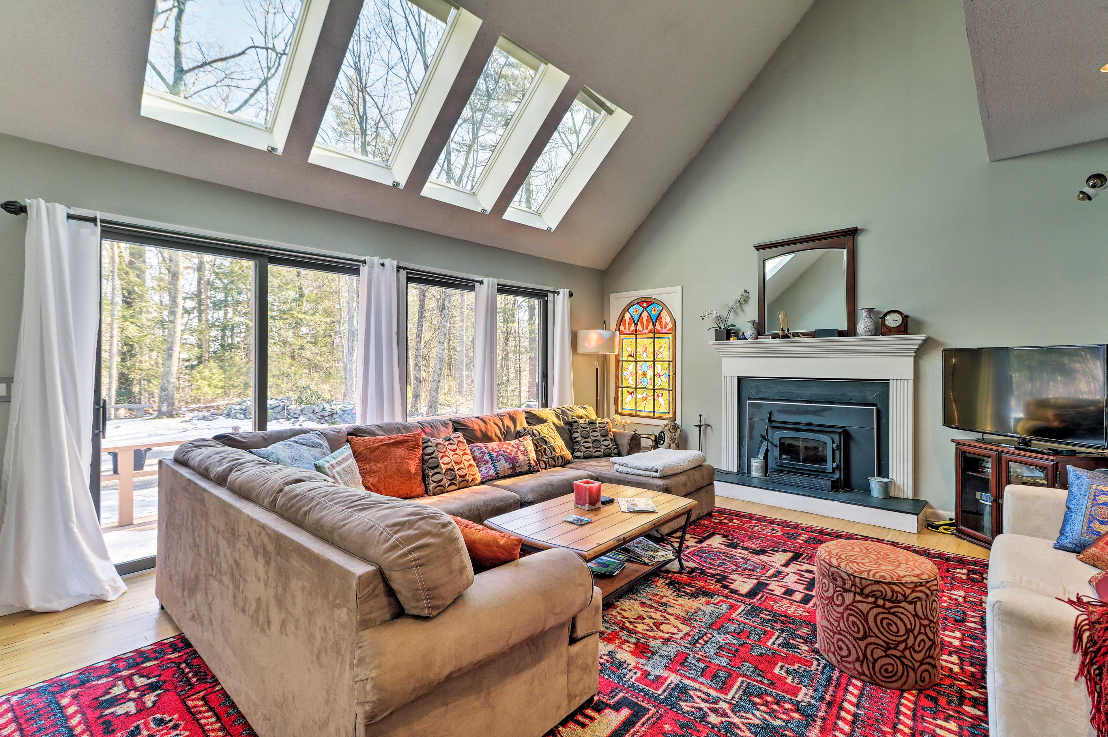 Find a home-away-from-home at this Goshen vacation rental house!