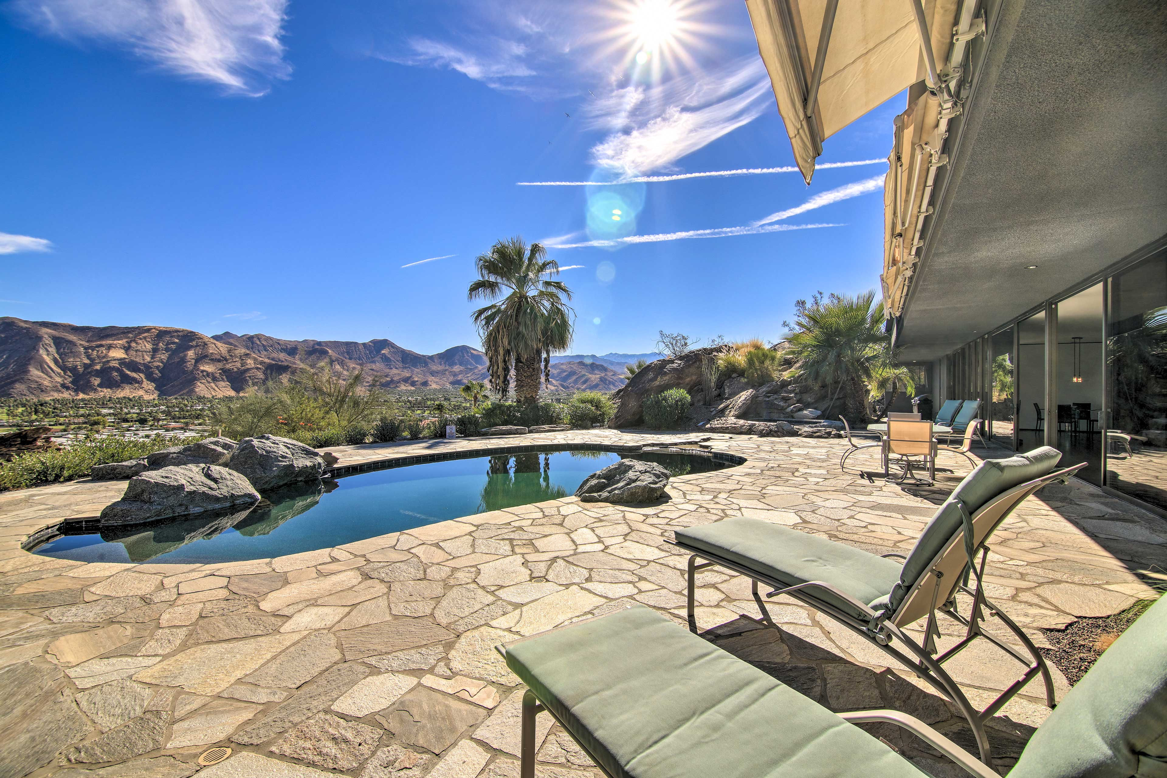 Palm Springs Vacation Rental | Single-Story Home | 2BR | 2BA | 2,400 Sq Ft
